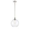 This item: Ballston Polished Nickel One-Light Pendant