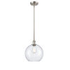 This item: Ballston Brushed Satin Nickel 10-Inch One-Light Pendant with Seedy Glass Shade