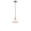 This item: Orwell Brushed Satin Nickel One-Light Mini Pendant