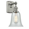 This item: Hanover Brushed Satin Nickel LED Wall Sconce