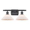 This item: Orwell Matte Black Two-Light LED Bath Vanity