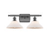 This item: Orwell Oil Rubbed Bronze Two-Light LED Bath Vanity