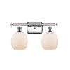 This item: Belfast Polished Chrome Two-Light LED Bath Vanity