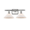 This item: Orwell Brushed Satin Nickel Two-Light Bath Vanity
