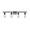 This item: Bare Bulb Oiled Rubbed Bronze 36-Inch Four-Light LED Bath Vanity