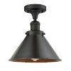 This item: Franklin Restoration Oil Rubbed Bronze 10-Inch LED Semi-Flush Mount