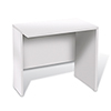 This item: 100 Collection White 32-Inch Narrow Return Desk