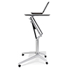 This item: Workpad Height Adjustable Standing Laptop Desk with White Top