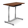 This item: Stand Up Desk Height Adjustable and Mobile with Cherry Top