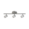 This item: Brushed Nickel 22-Inch Three-Light Track Light