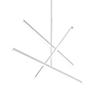 This item: Vega White 45-Inch LED Chandelier