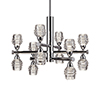 This item: Chrome 27-Inch LED Chandelier