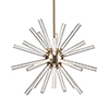 This item: Astro Aged Brass 32-Inch LED Chandelier