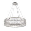 This item: Solaris Chrome 32-Inch LED Chandelier