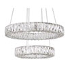 This item: Chrome 23-Inch LED Chandelier