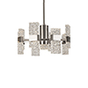This item: Oslo Platinum 22-Inch LED Chandelier