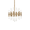 This item: Turin Vintage Brass 20-Inch LED Chandelier