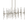 This item: Turin Polished Nickel 41-Inch LED Chandelier