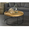 This item: Berkeley Natural and Iron Coffee Table