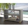 This item: Nautilus Kubu Gray Outdoor Console Table