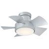 This item: Vox Titanium Silver 26-Inch 2700K LED Flush Mount Ceiling Fans
