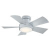 This item: Vox Titanium Silver 38-Inch 3000K LED Flush Mount Ceiling Fans