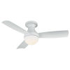 This item: Aloft Matte White 44-Inch 2700K LED Flush Mount Ceiling Fans