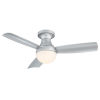 This item: Aloft Titanium Silver 44-Inch 2700K LED Flush Mount Ceiling Fans