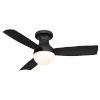 This item: Aloft Bronze 44-Inch 3000K LED Flush Mount Ceiling Fans