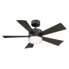 This item: Wynd Bronze 42-Inch 2700K LED Downrod Ceiling Fans