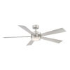 This item: Wynd Stainless Steel 60-Inch ADA LED Ceiling Fan, 2700K