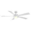 This item: Wynd Matte White 60-Inch ADA LED Ceiling Fan