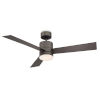 This item: Axis Bronze 52-Inch 3500K LED Downrod Ceiling Fans
