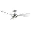 This item: Stargazer Liquid Nickel 52-Inch 3500K LED Downrod Ceiling Fans