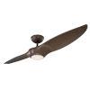 This item: Morpheus II Dark Walnut 60-Inch 3500K LED Downrod Ceiling Fans