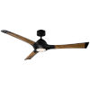 This item: Woody Matte Black 60-Inch 3500K LED Downrod Ceiling Fans