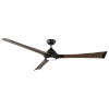 This item: Woody Oil Rubbed Bronze and Dark Walnut 72-Inch ADA LED Ceiling Fan, 2700K