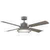 This item: Nautilus Graphite and Weathered Wood 56-Inch ADA LED Ceiling Fan