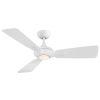 This item: Mykonos Matte White 52-Inch 3500K LED Downrod Ceiling Fans