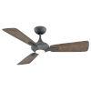 This item: Mykonos Graphite 52-Inch 2700K LED Downrod Ceiling Fans