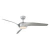 This item: Nirvana Titanium Silver 56-Inch 3500K LED Downrod Ceiling Fans