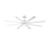 This item: Renegade Matte White 52-Inch ADA LED Ceiling Fan, 3500K