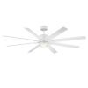 This item: Renegade Matte White 66-Inch ADA LED Ceiling Fan