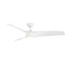 This item: Zephyr Matte White 52-Inch ADA LED Ceiling Fan