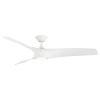 This item: Zephyr Matte White 62-Inch ADA LED Ceiling Fan, 2700K