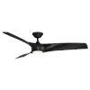 This item: Zephyr Matte Black 62-Inch ADA LED Ceiling Fan
