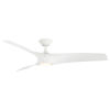 This item: Zephyr Matte White 62-Inch ADA LED Ceiling Fan