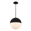 This item: Punk Black 14-Inch 3500K LED  Pendant