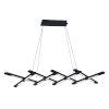 This item: Scissors Black LED  Chandelier