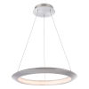 This item: The Ring Brushed Aluminum 24-Inch LED 3500K Chandelier